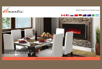 Electric Fireplaces - Amantii