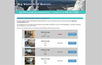 Big White Staff Accommodations Rentals